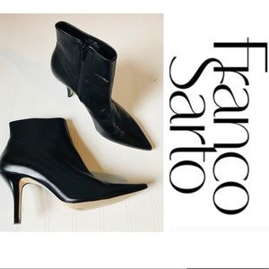 Franco Sarto black boots size 10M